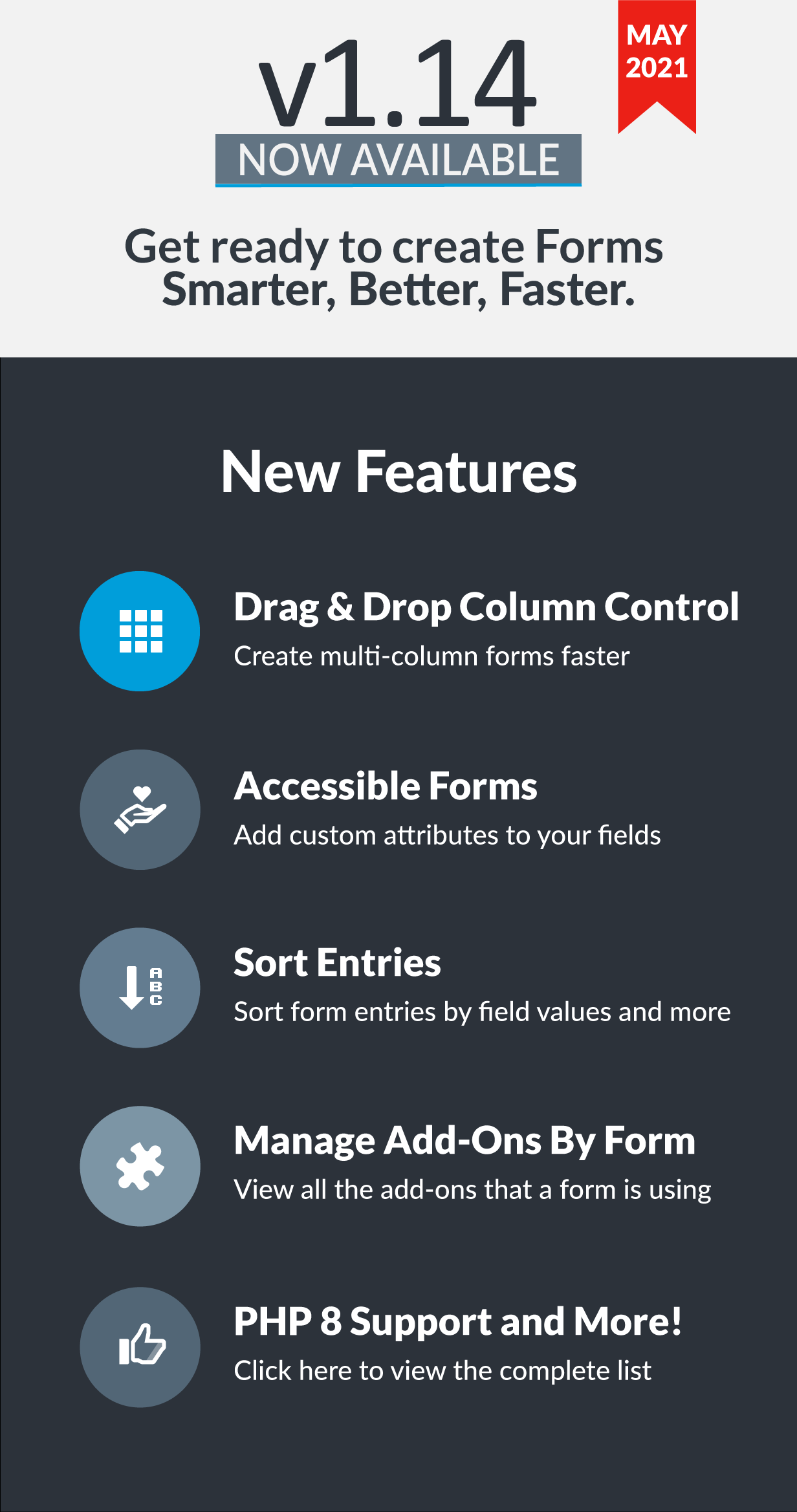 Easy Forms v1.14 has been released!
